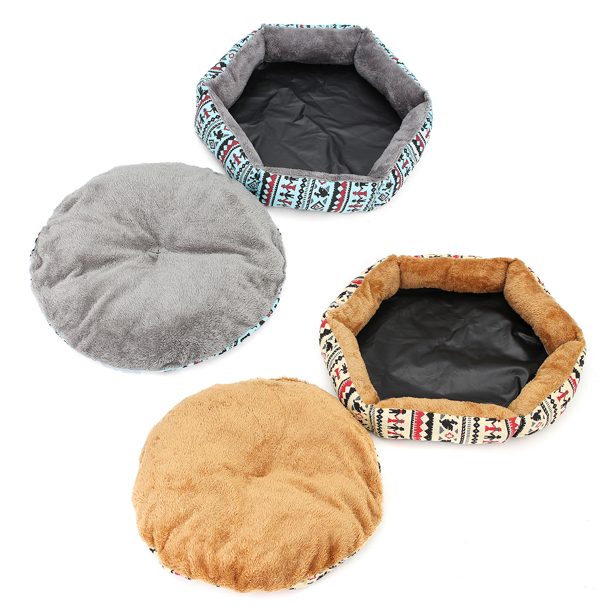 40cm Pet Dog Puppy Cat Kitten Bed Soft Cushion Warm Kennel Mat Pad Blanket