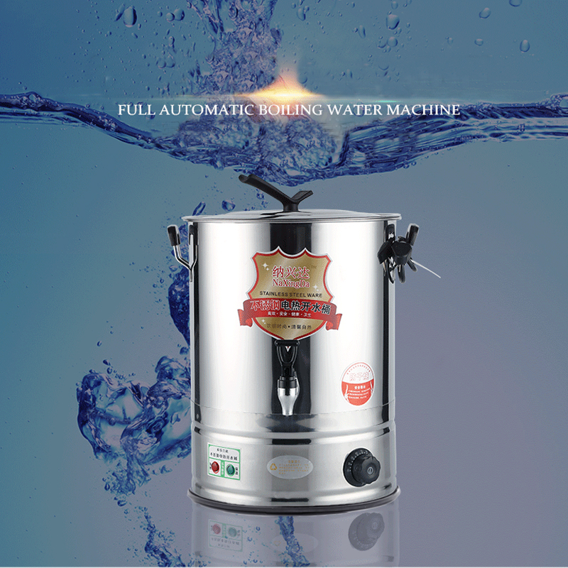 30L Tea Boiler Stainless Steel Electric Hot Water Boiling Thermal Water Bucket Pail