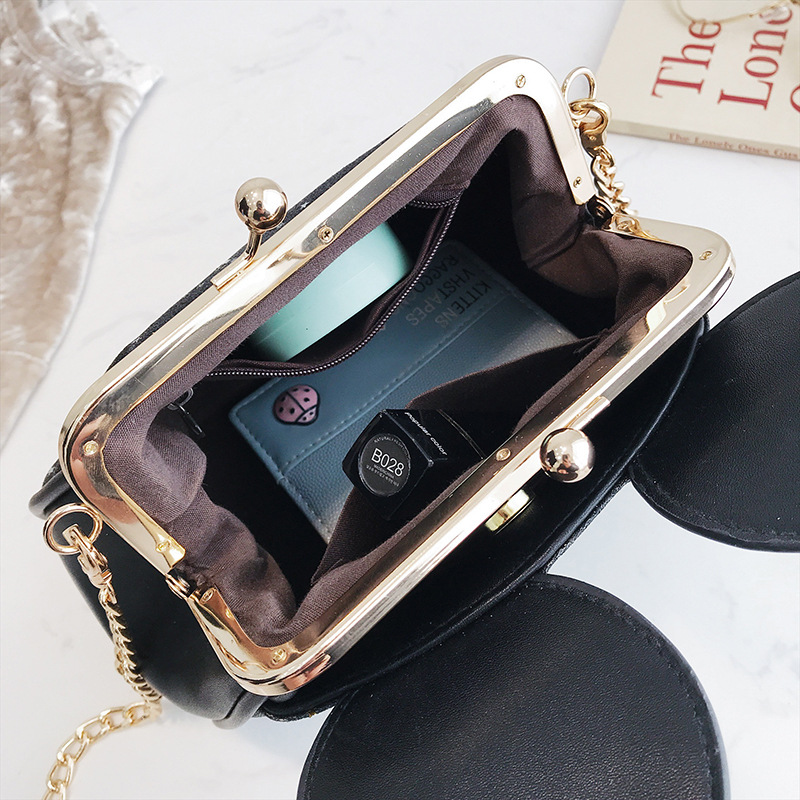 Women Cartoon Lovely Style Paillette Shoulder Bag
