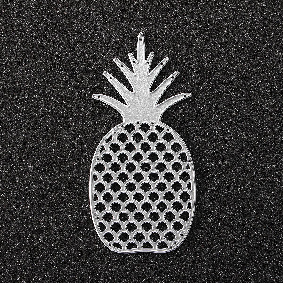 Pineapple Metal Scrapbook Photo Album Paper Work DIY Cutting Dies