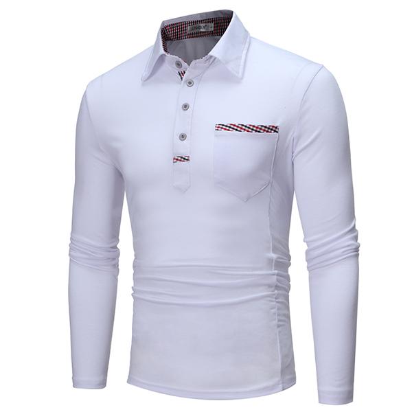 Men's Leisure Turn Down Collar Golf Shirt