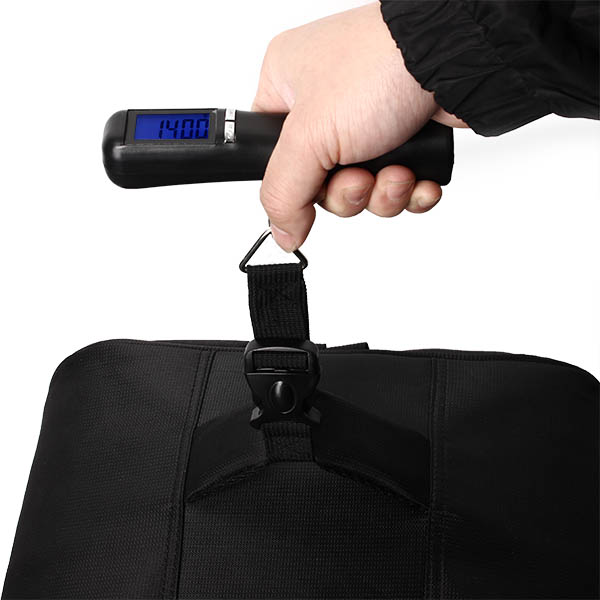 LCD Electronic Bandage Portable Scale 40kg/10g Capacity Hand Carry Luggage Digital Weighing Device