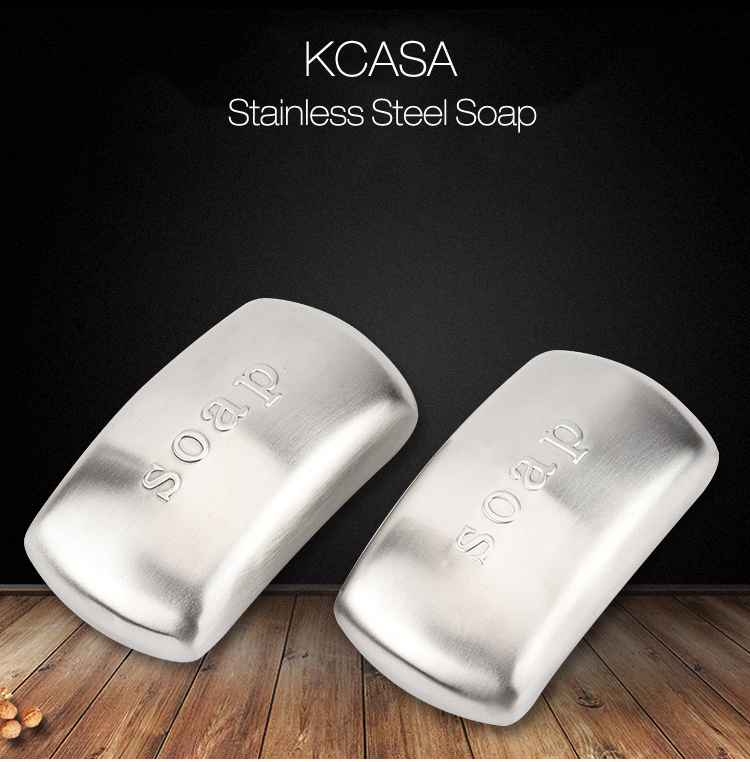 KCASA KC-SS09 Stainless Steel Soap Magic Eliminating Hand Odor Remover Kitchen Cleaning Tools
