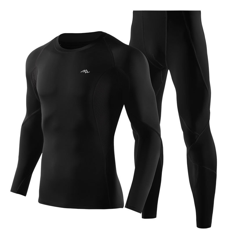PRO Compression Running Training Sports Suit Men Quick Drying Breathable Tights Jogger Gym Sportwear