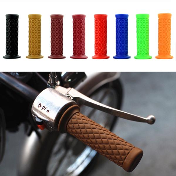 22mm 7/8inch Motorcycle Bike Racing Gel Rubber Handlebar Handle Bar Hand Grips