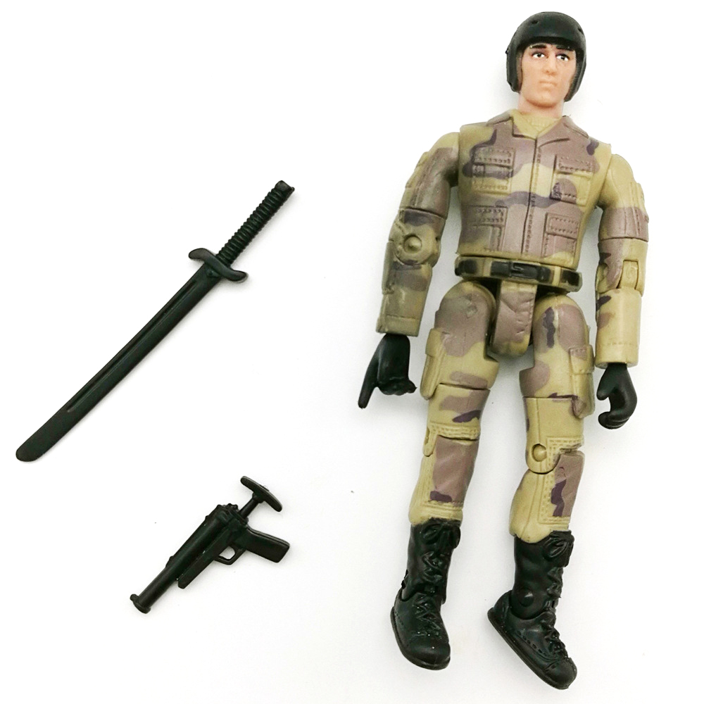 1Pc WPL Simulate Action Figure Soldier Doll 10cm Random Delivery RC Car Parts