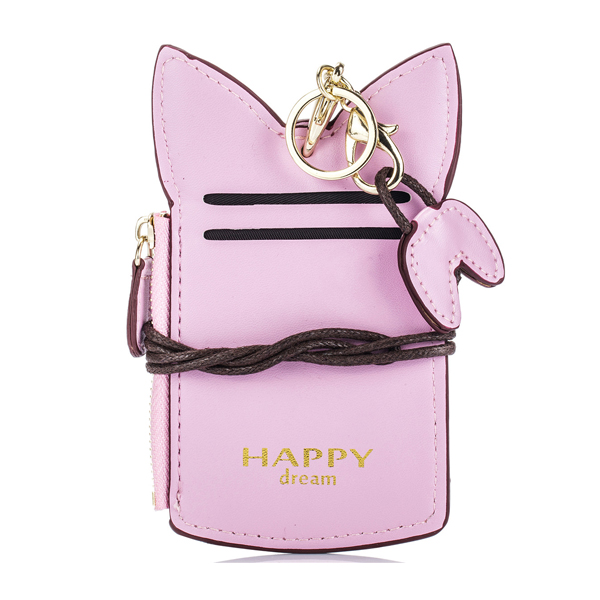 Details: Material PU Leather Color Red, Pink, Black Weight 50g Length 14cm(5.51') Height 7.5cm(2.95') Width 1.5cm(0.59') Pattern Cartoon Inner Pocket Card Pocket, Coin Pocket Closure Zipper Package include: 1*Purse More Details: Disclaimer : About Size:Si #purse