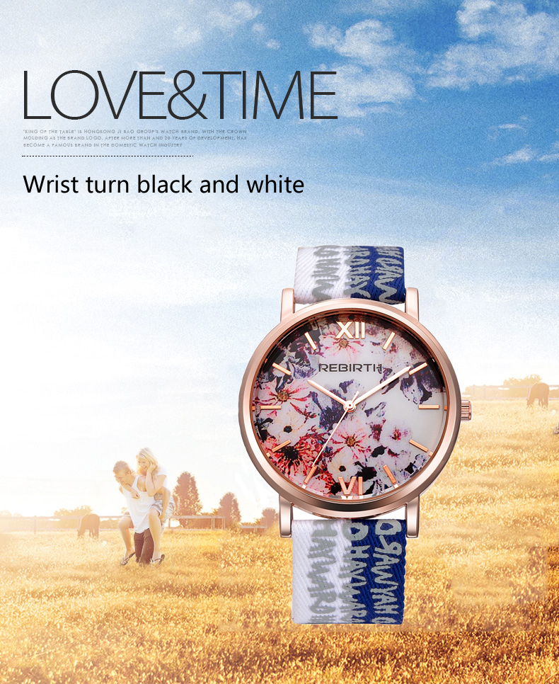Casual Style Waterproof Ladies Wristwatch