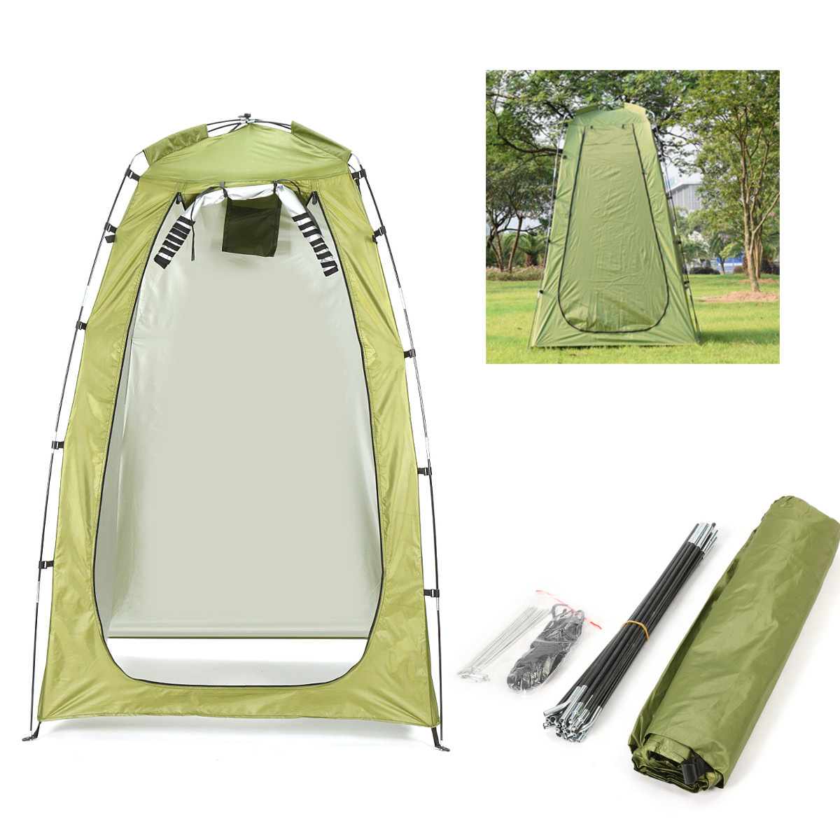 Outdoor Portable Fishing Tent Camping Shower Bathroom T