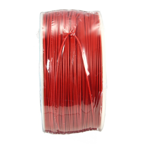 5pcs Red 0.55mm Circuit Board Single-Core Tinned Copper Wire Wrap Electronic Wire Fly Wire Jumper Cable Dupont Cable