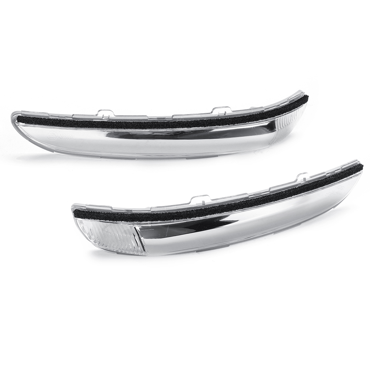 Door Wing Mirror Indicator Lights Shell Side Turn Signal Lamp Cover Clear Left/Right for Peugeot 208 2012-2017