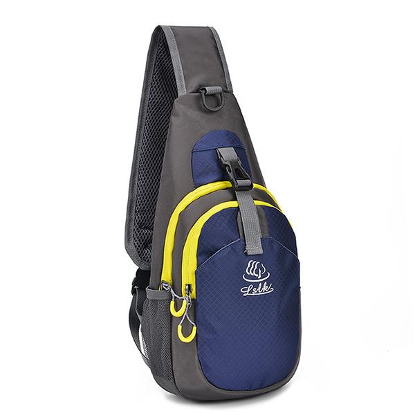 Men Nylon Light Weight Crossbody Bag Outdoor Sport Bag