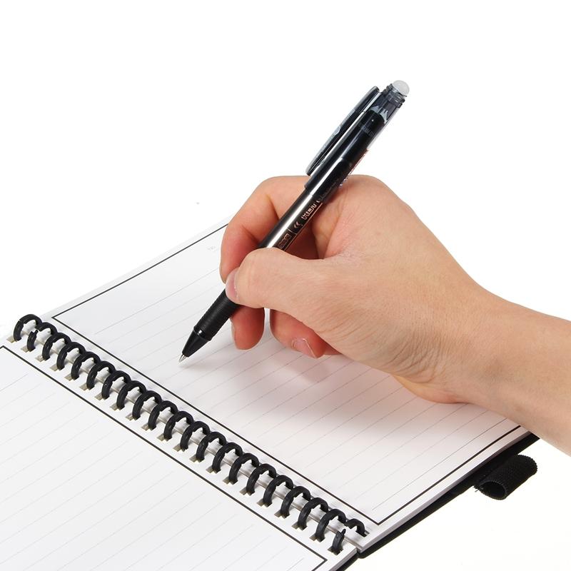 B5 Elfinbook 2.0 Smart Reusable Erasable Notebook Microwave Wave Cloud Erase Lined Notepad With Pen