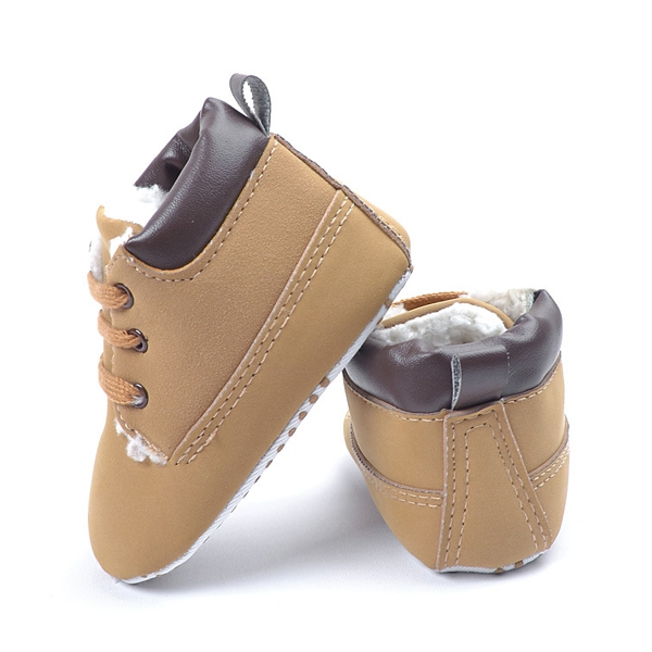 Baby Winter Warm Cotton Padded Soft Sole Casual First Walking Shoes