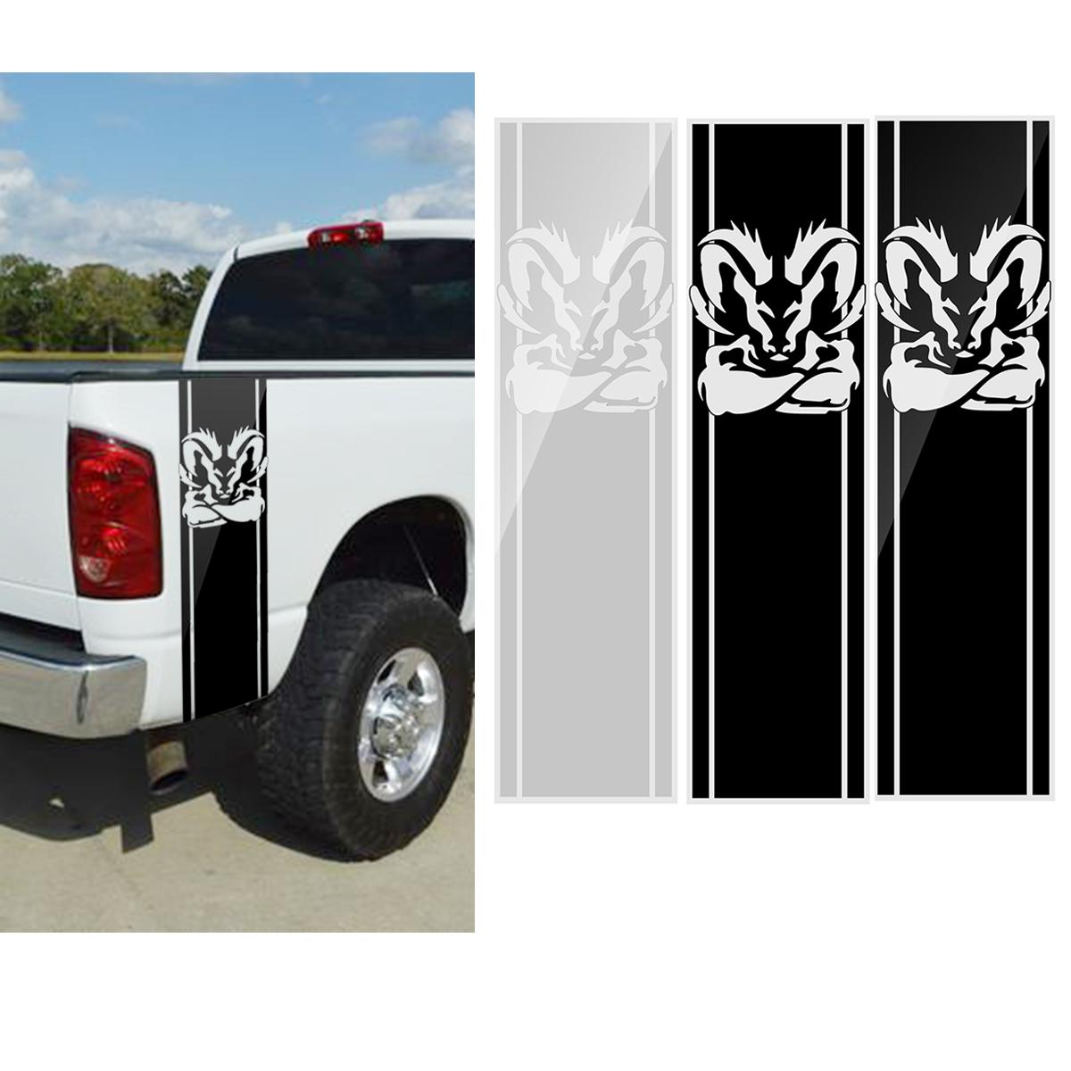 97x 25CM Car Stripe Racing Stickers PVC Decals for Dodge Ram 1500 2500 3500 5.7L DS011