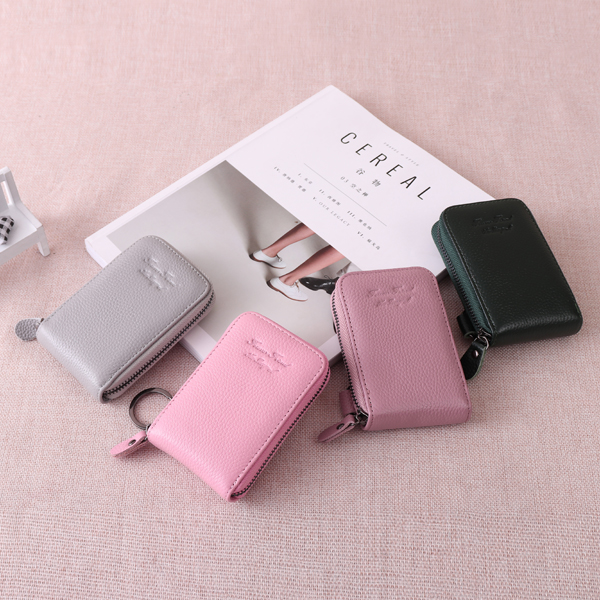 Genuine Leather 6 Colors 11 Card Slots Casual Card Pack Purs