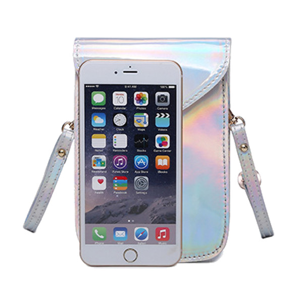 Women PU Leather Mini Shoulder Bags Hasp Crossbody Bags 5.5'' Phone Purse For Iphone 7P