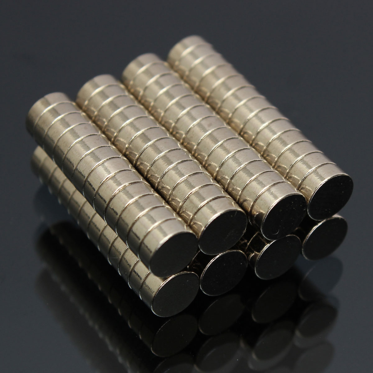 100pcs 5mmx2mm N52 Strong Round Magnets Rare Earth NdFeB Neodymium Magnet