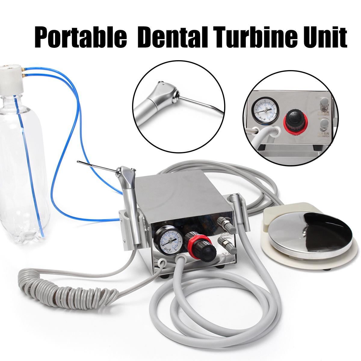 Portable Dental Turbine & 600ml Bottle