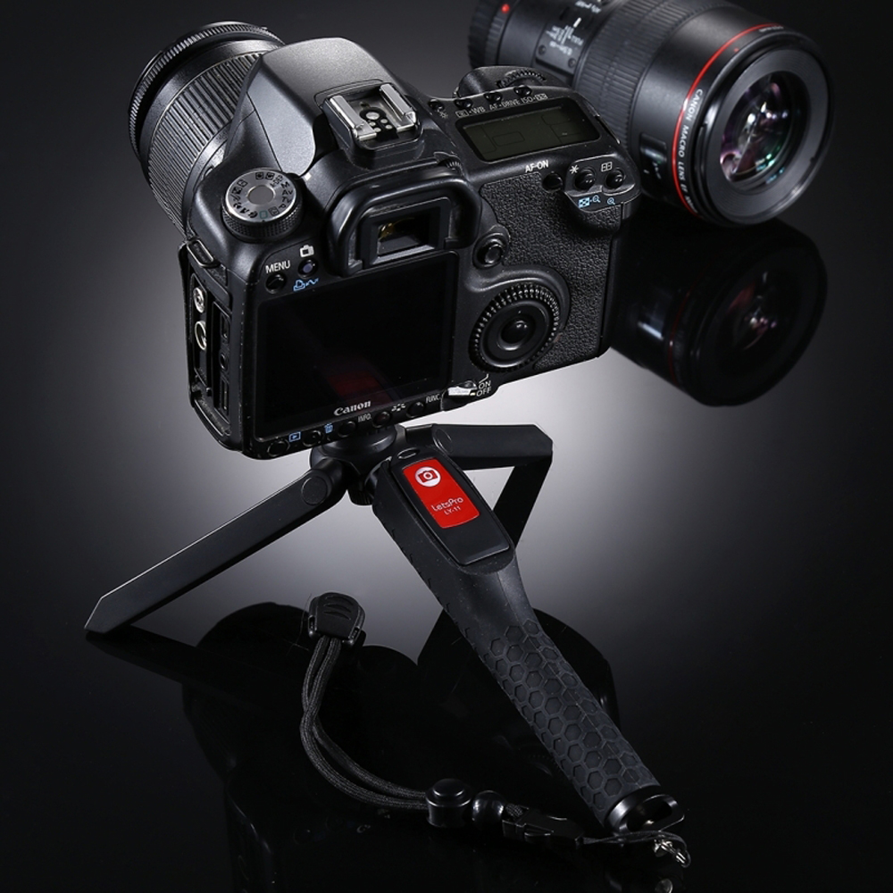 A8 3 In 1 Shutter Remote Mini Tripod Handheld Gimbal Stabilizer W/ Ball Head for Camera Phone Gopro