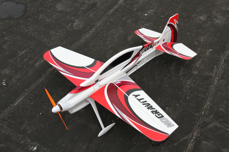 TechOne Hobby No Gravity 840mm Wingspan 3D EPO Foam RC Airplane KIT