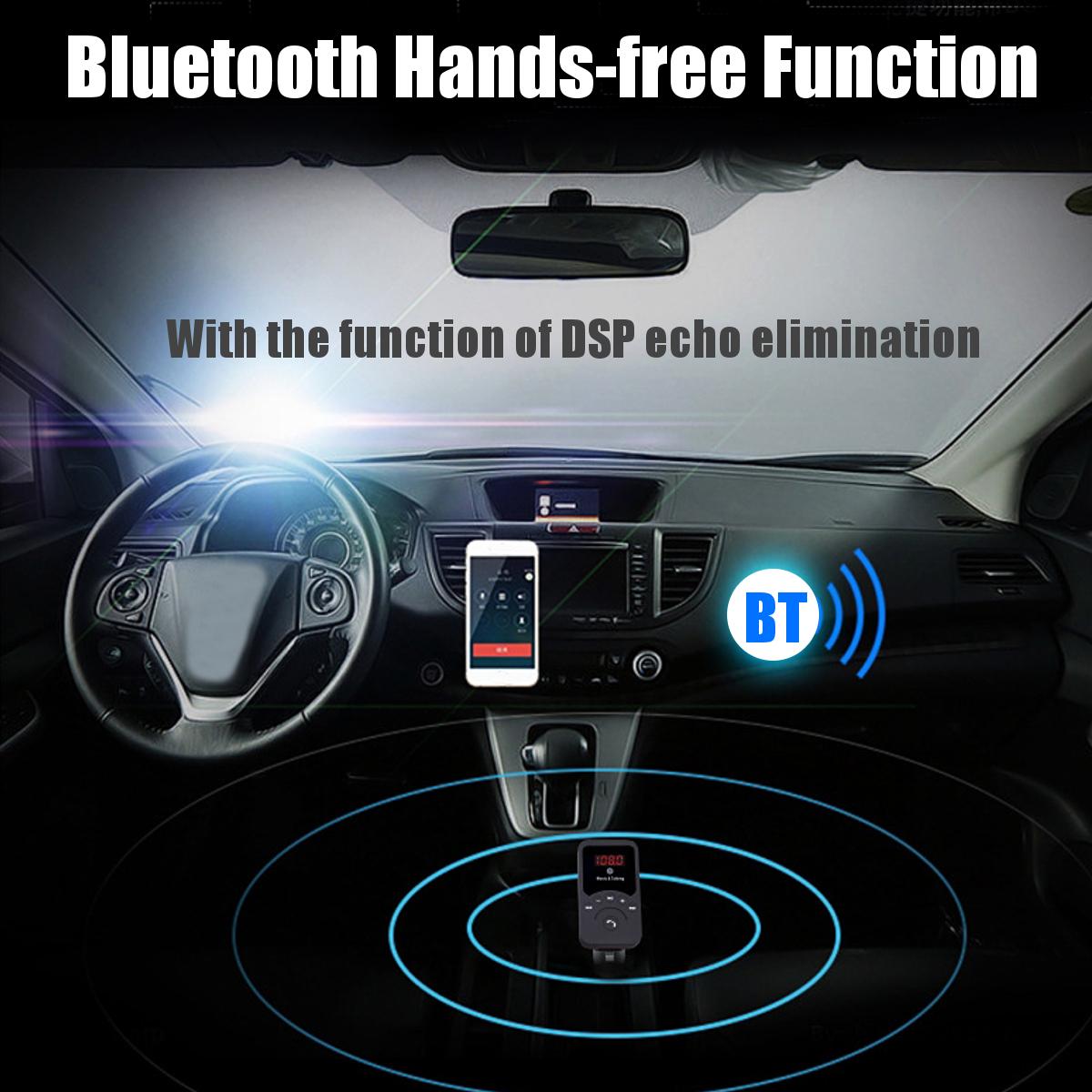 Wireless Bluetooth FM Transmitter Radio Car Kit MP3 Music Player USB Charger TF