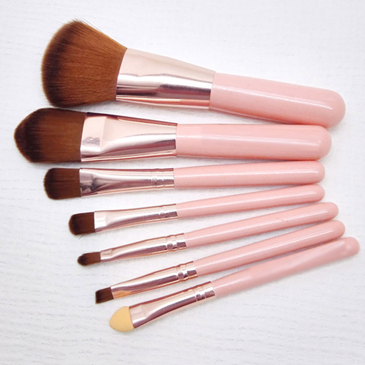 7Pcs Cosmetic Brushes Set