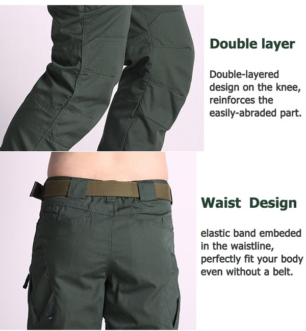 Mens Military Tactical Cargo Pants Outdoor Training Long Trousers