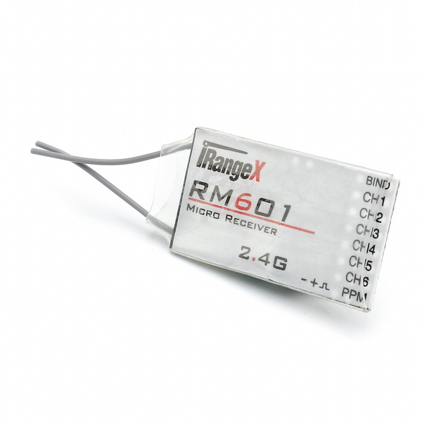 iRangeX RM601 2.4G 7CH Micro DSM2 DSMX Compatible Receiver With PPM Output