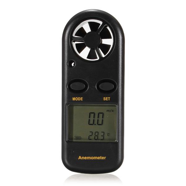 GM816 1.5Inch LCD Portable Digital Wind Speed Meter Anemometer