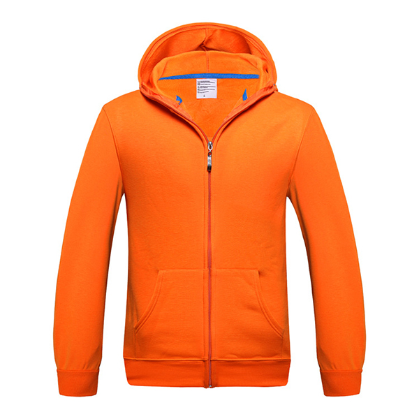 Basic Style Mens Hoodies Casual Zip Fleece Sportswear Solid Color Warm Tracksuit