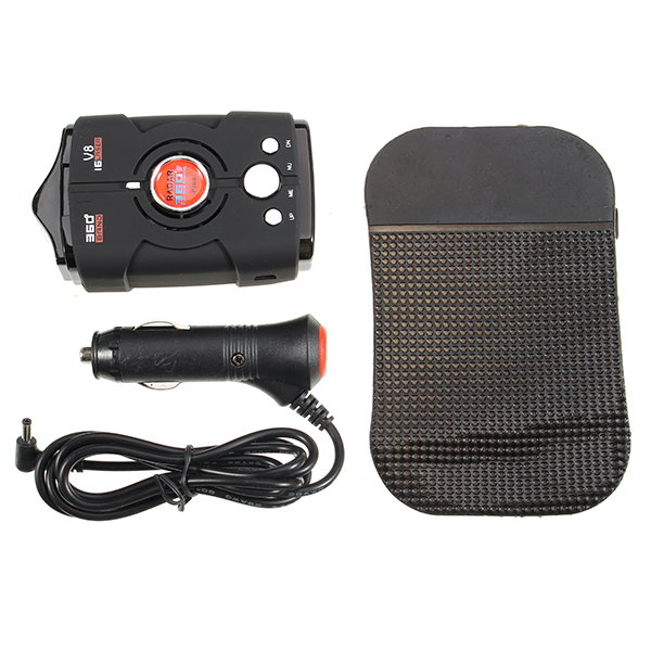 V8 360 degree Full-Band-Scanning Voice Anti Radar Detector