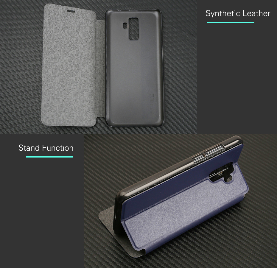 Bakeey Luxury Stand Flip PU Leather Protective Case Cover For Leagoo M9