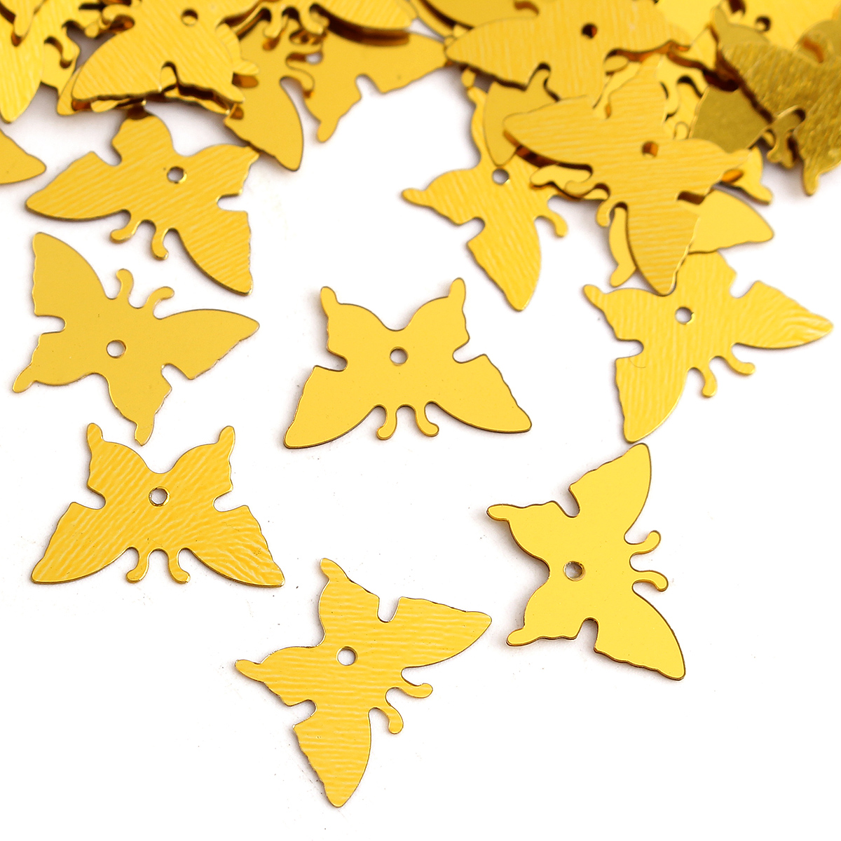 380Pcs Butterfly Shape Pentagram Plastic Resin Confetti Birthday Wedding Party Decoration