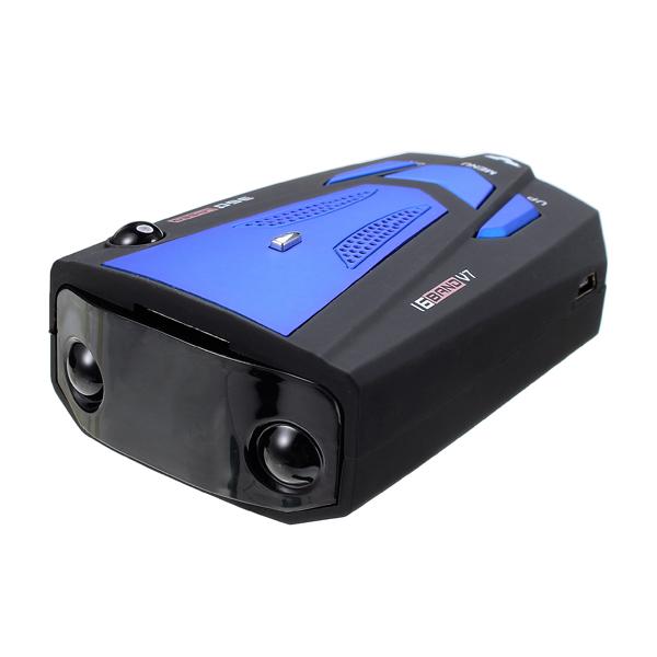 V7 Car Radar Detector Speed Alarm Support Russian English