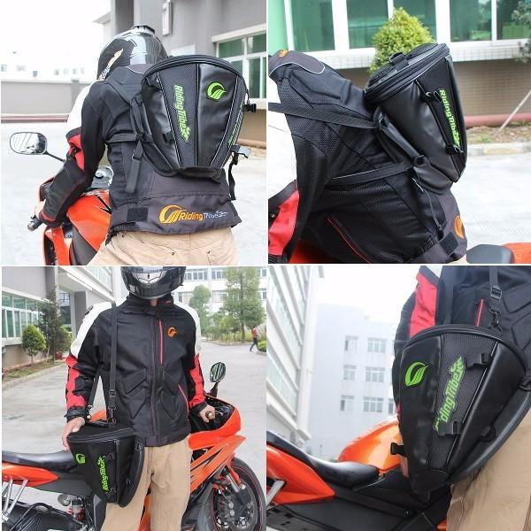 Motorcycle Tank Bag Helmet Travel Tool Tail Luggage Waterproof Multi Riding Tribe