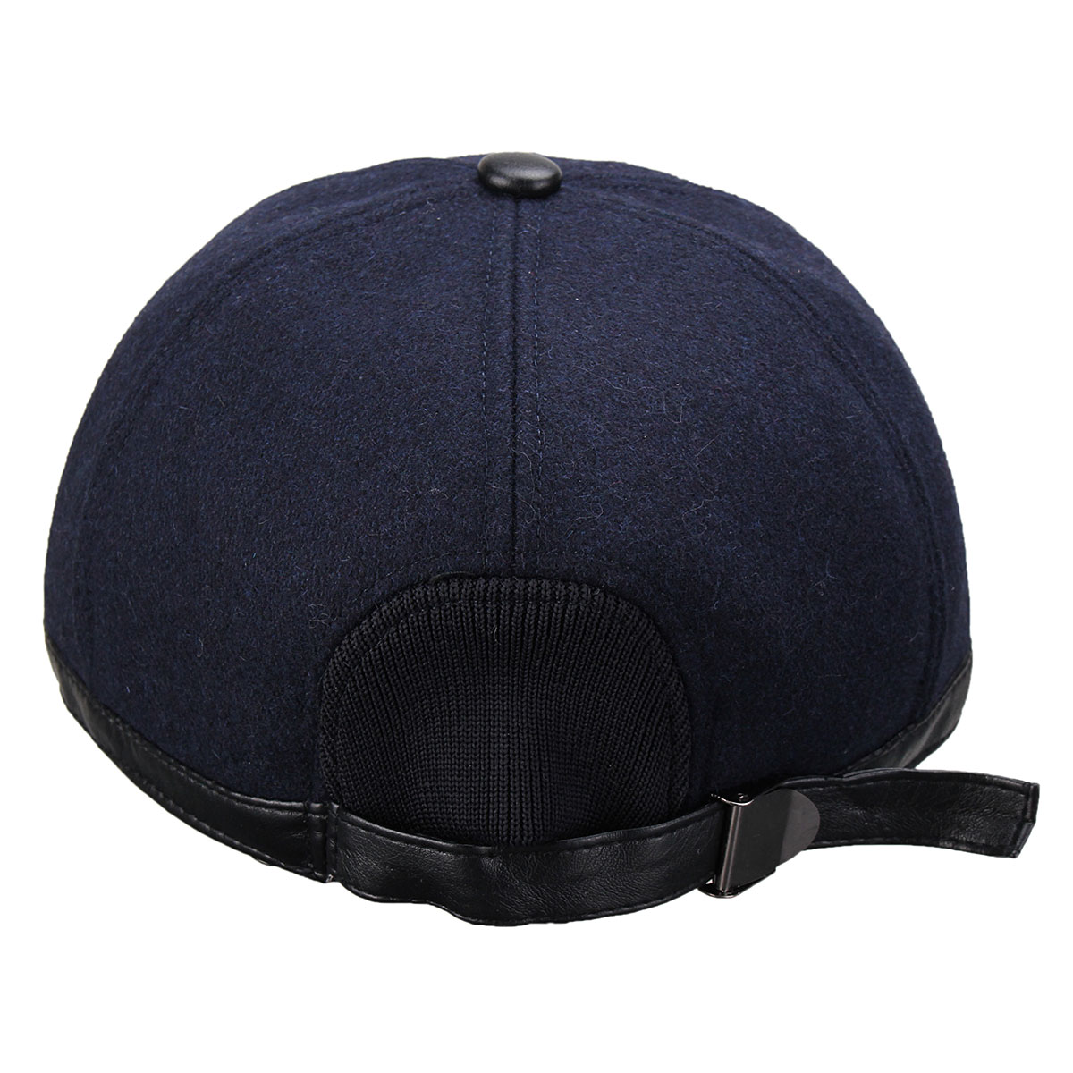Unisex Men Women Earflap Earmuffs Woolen Baseball Cap Adjustable Golf Sport Outdoor Hat