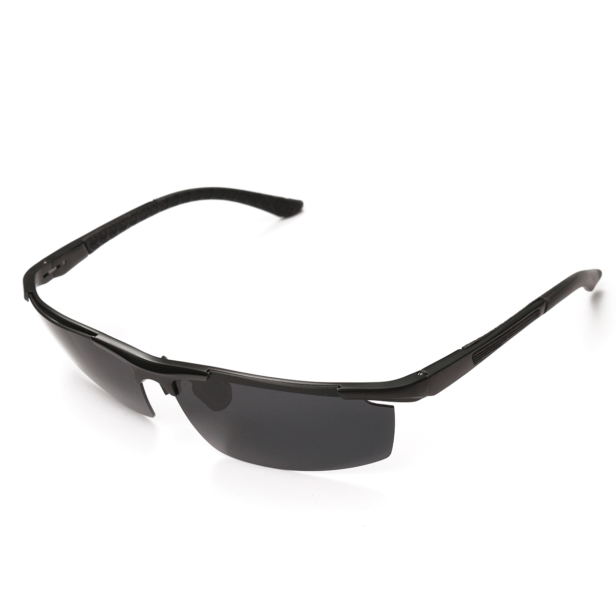 Men Uv Protection Sun Glassess Half Frame Outdooors Sports Eyewear Driving Cycling Glasses