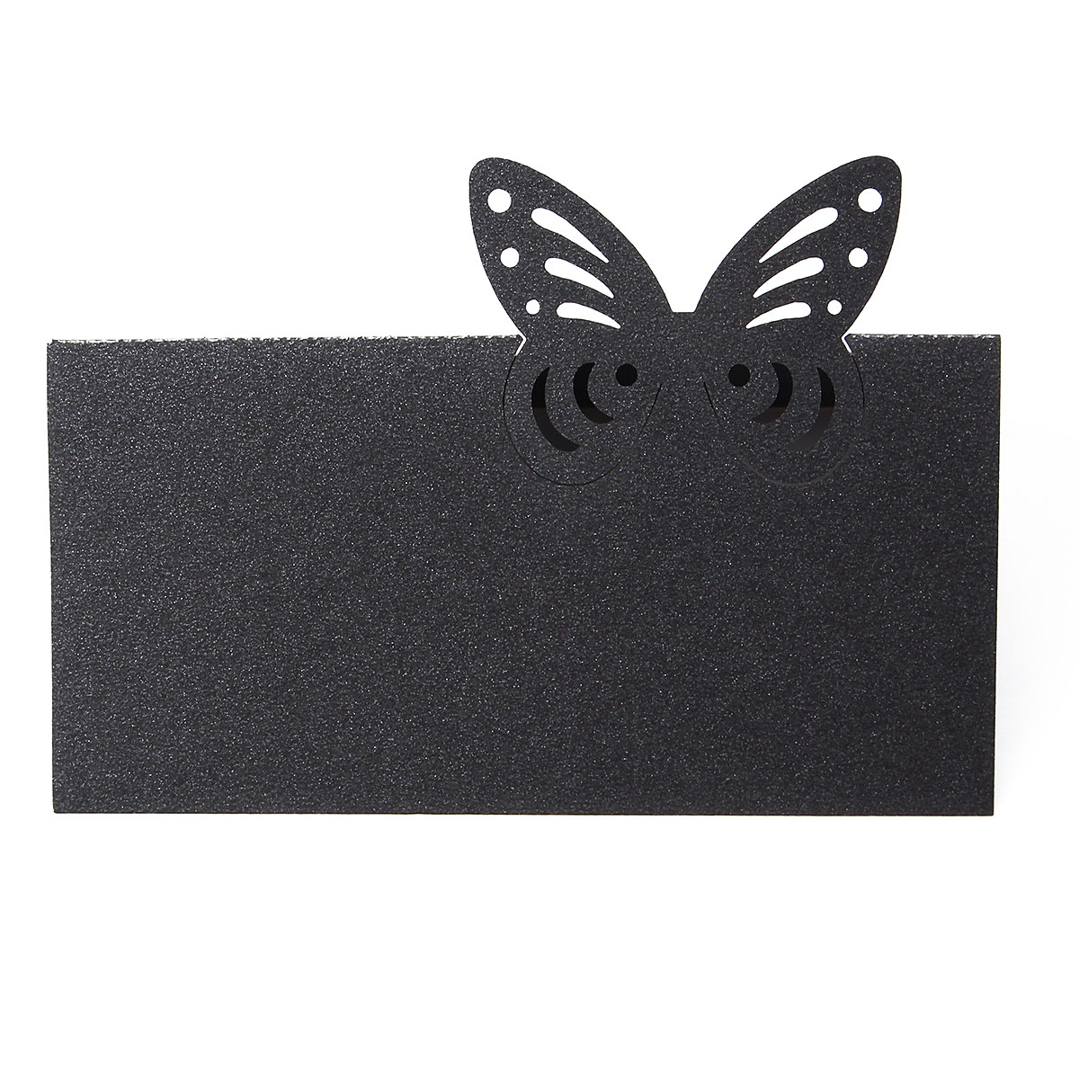 25Pcs Butterfly Laser Hollow Out Paper Table Place Name Seat Card Wedding Party Accessories