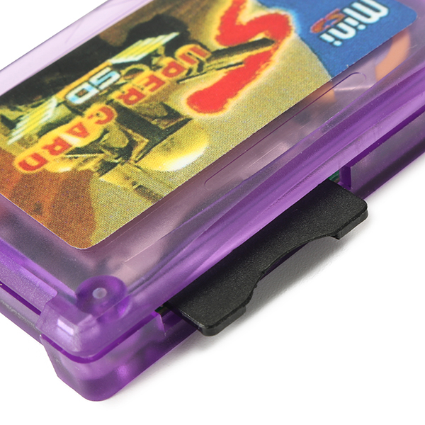 Purple Burning Disk Mini SD Card for GBM GBASP NDS NDSL