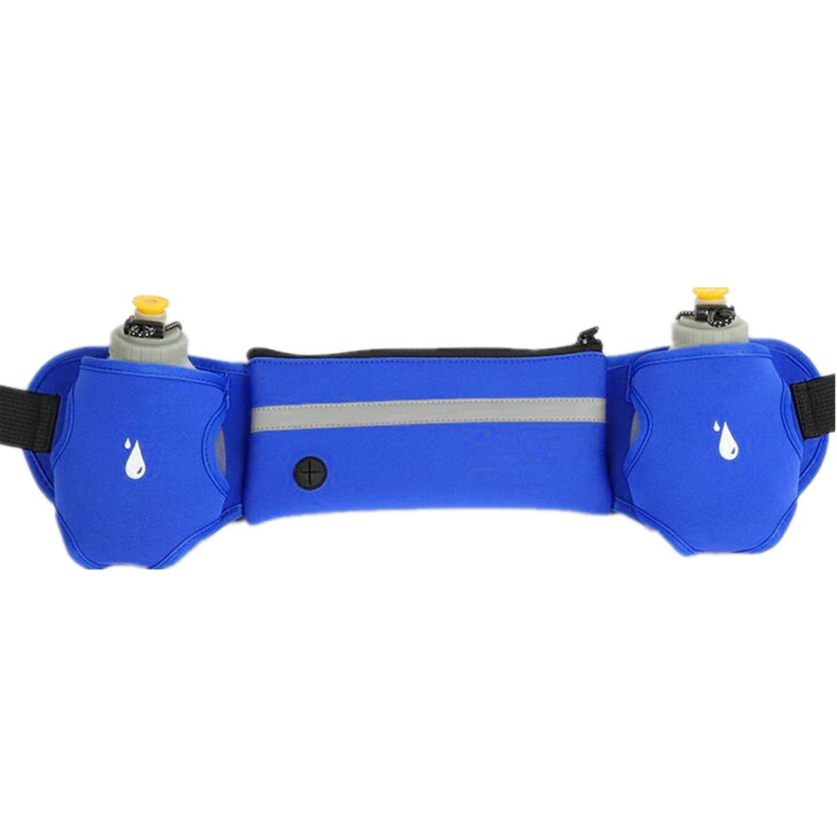 Unisex Sport Fitness Water Bottle Waist Belt Bag Running Jogging Marathon Gym Waist Accessories