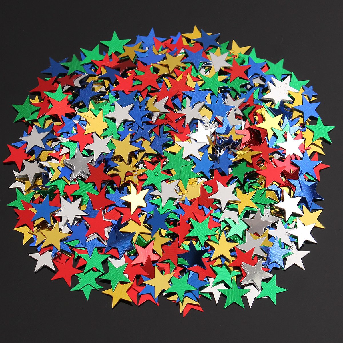 1000Pcs Five-pointed Star Sequins Wedding Birthday Party to Throw Confetti Continental Accessories