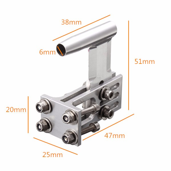 TFL 47×25×51 Propeller Shaft Stand Support Part 503B10 RC Boat 1111 Part