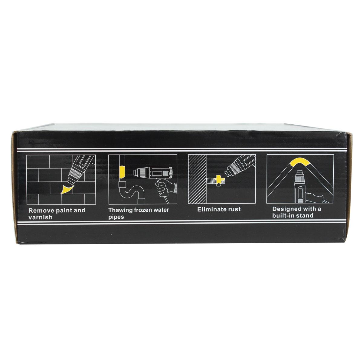 GJ-8020 LCD 2000W Heat Gun Hot Air Gun Welding Tools with Noozle