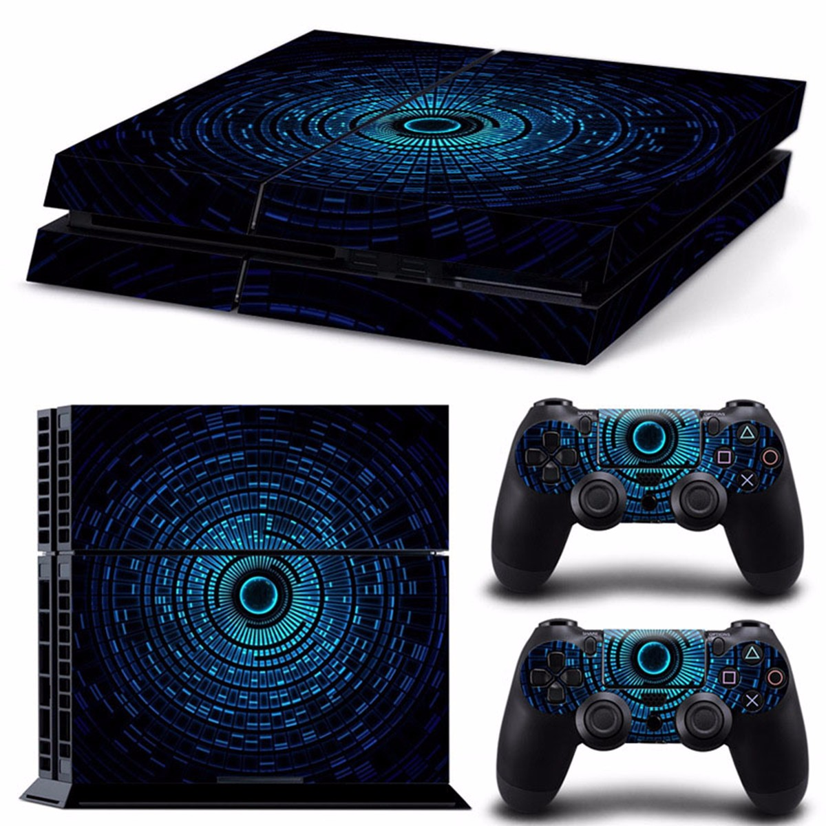 Digital Aura Vinly Skin Stickers For PS4 Play Station 4