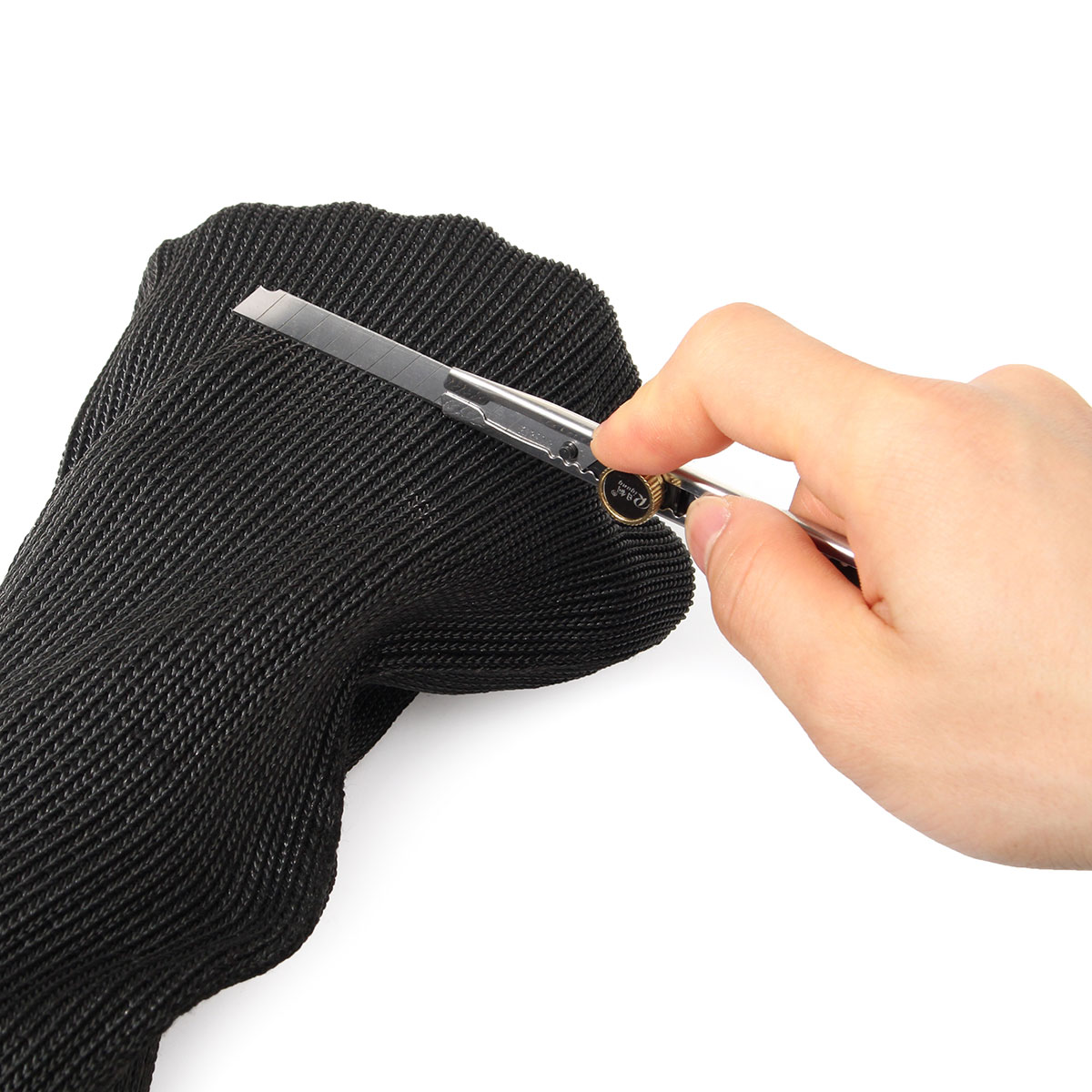 Stainless Steel Wire Safety Sport Cut Resistant Sleeve Work Glove Wrist Armband Protector Glove