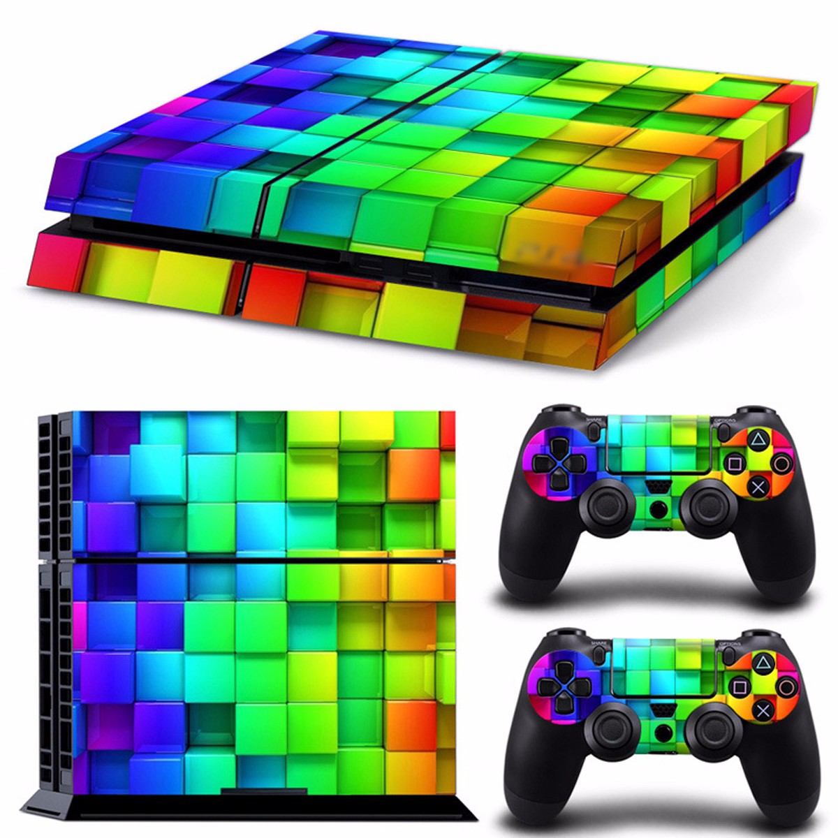 Lattice Style Vinyl Skin Decal For PS4 Play Station 4 C