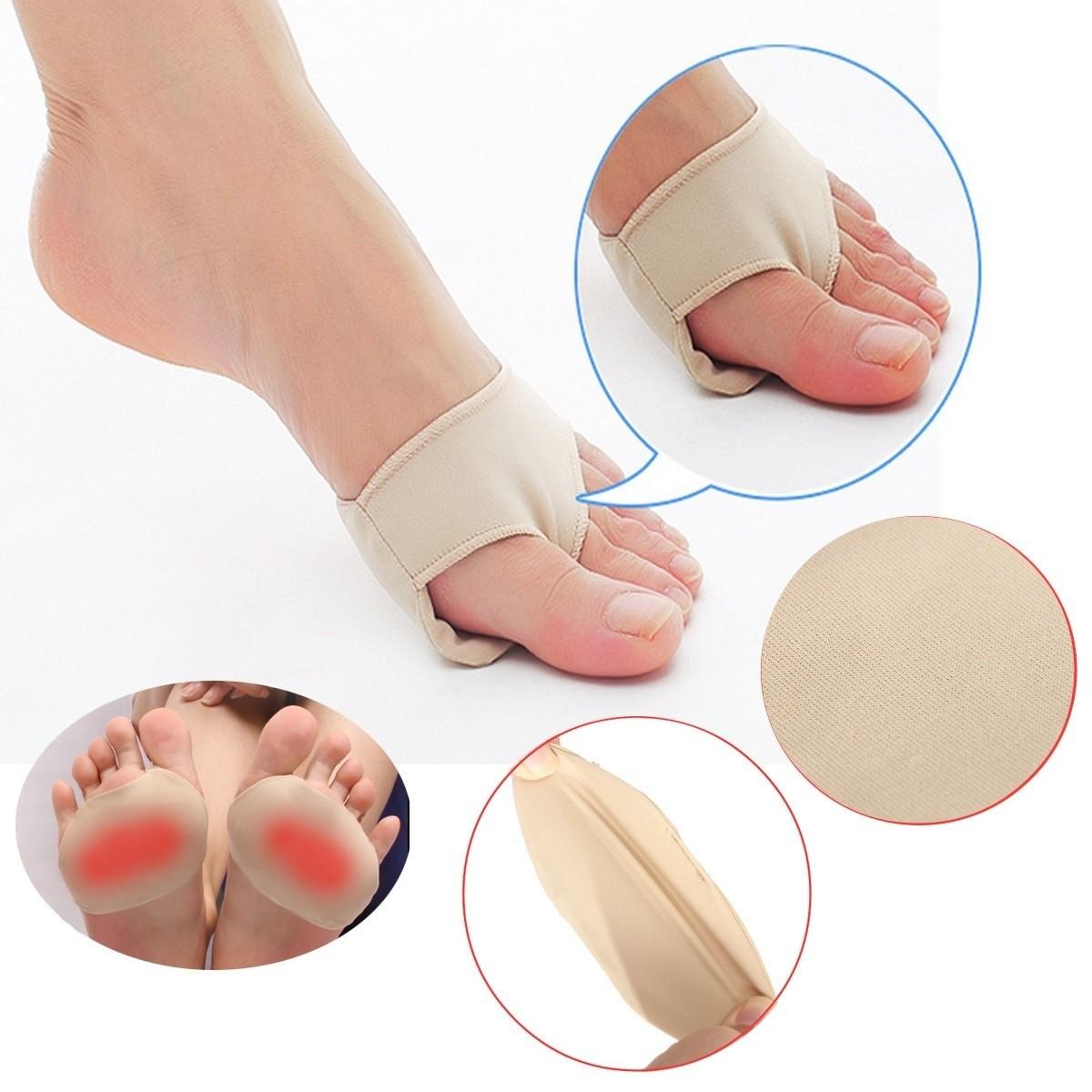 1Pair Spandex Foot Gel Pads Cushion Forefoot Metatarsal High Heel Shoes Accessories