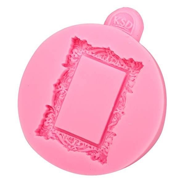 Square Frame Fondant Mold Silicone Mould Cake Decoration Tool Multifunction Baking Accesseries