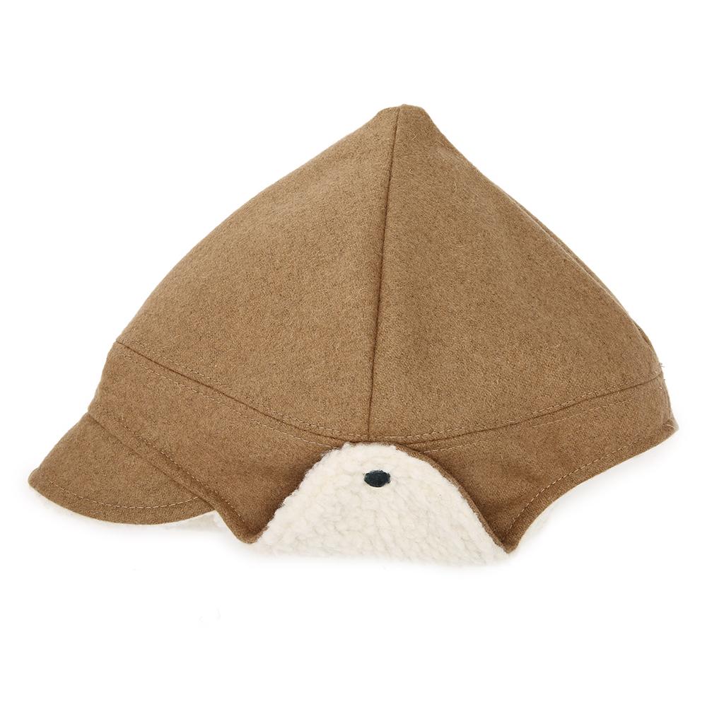 Unisex Warm Knight Hat Faux Suede Lambswool Trapper Hat